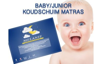 BESTE KOOP koudschuim baby/junior matrasje (hoogte 14 cm.)