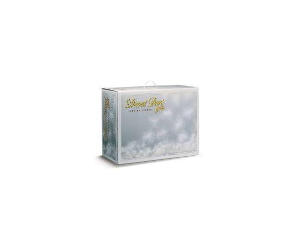 100% witte Poolse ganzendons Duvet doré Gold 4 seizoenen warmteklasse 1