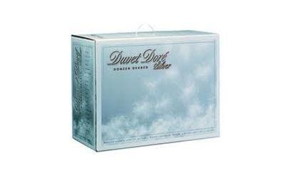 90% Poolse ganzendons Duvet doré Silver 4 seizoenen warmteklasse 1
