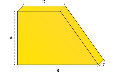 Driehoekig matras