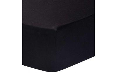 Singel Jersey hoeslaken 140 gsm zwart