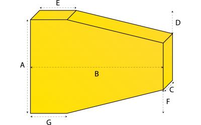 Trapezium matras